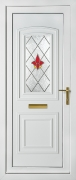 Balmoral Red Campion PVCu Door