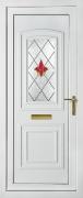 Balmoral Red Campion PVCu Door
